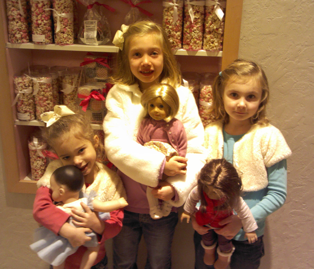 The Girls with their Dolls