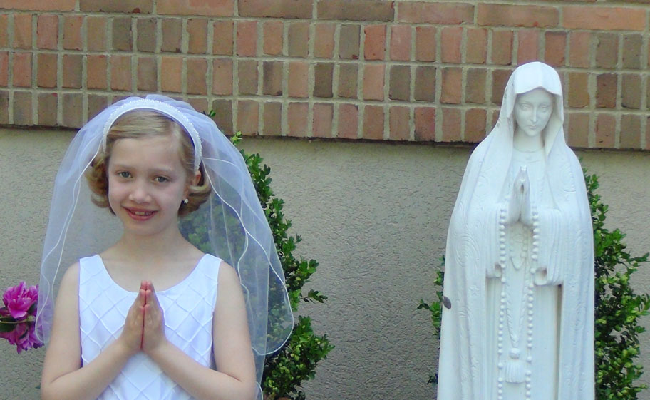 Lily's 1st Communion